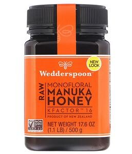 Wedderspoon,Raw Monofloral Manuka Honey